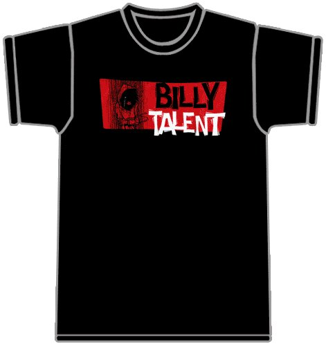 Billy Talent - Rain Girl (Black) T-Shirt