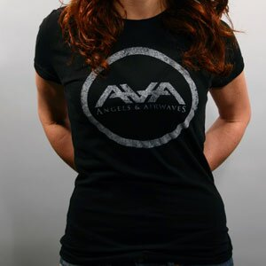 Angels & Airwaves 'Distressed Girls' Tissue Tee