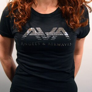 Angels & Airwaves 'Girls Foil' Tissue Tee