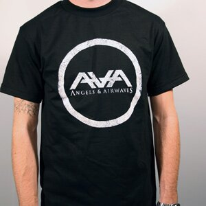 Angels & Airwaves 'Distressed Logo' Tee