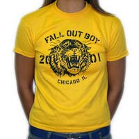 Fall out boy - Tiger (Yellow)