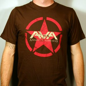 Angels & Airwaves 'Red Star' Slim Fit Tee